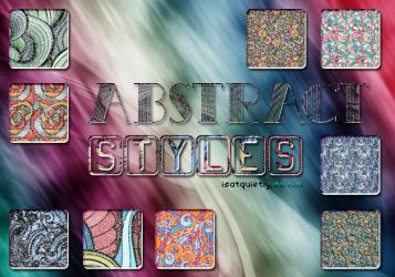 +Abstract Glitter Styles by ISatQuietly