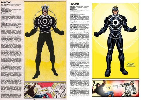 OHOTMU Havok redesign by ScottCohn