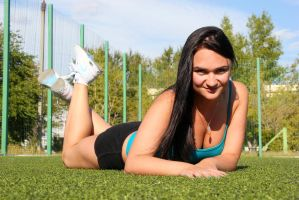 Sport girl by oleggirl