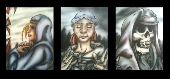 3 Norns Closeup by ChAoTh