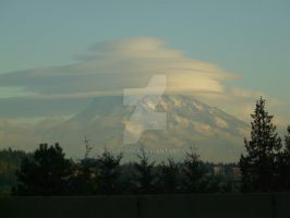 Mt Rainer, Lenticular pancakes by doglover43