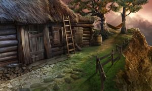 Hut On The Cliff by APetruk