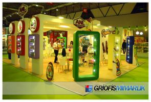 ANL GIDA Exhibition Stand Photo by GriofisMimarlik