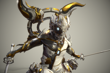 Orokin Dragon Excalibur 3 by Zbrush-Hero