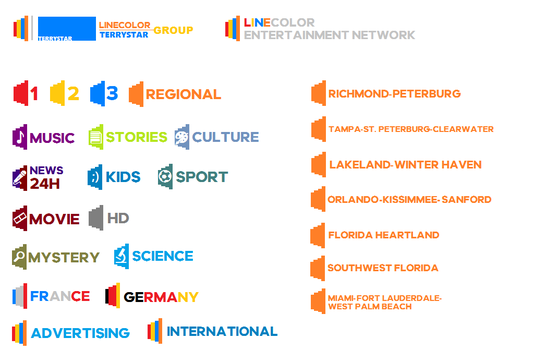 LineColor Entertainment Network by terryrule17