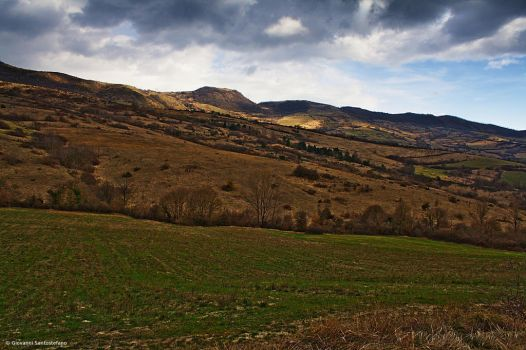 Early Spring Land by GiovanniSantostefano