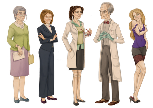 Relativity Character Set 3 by Astral-Dragon