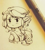 .: Chibi Ana - Available to Commission:. by MissLunacrest