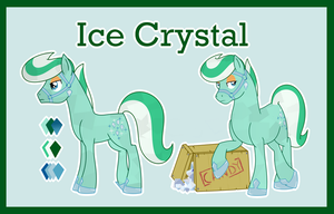 Ice Crystal ref (G1 to G4) by Bakufoon