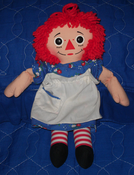 Raggedy Ann doll by XUnlimited