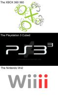Xbox 360 360, PS33, Wiiii by toadking07