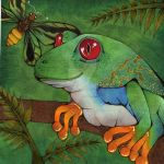 Tree Frog by sharkdiver131
