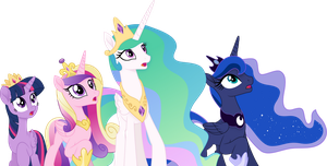 Princesses by Tralomine
