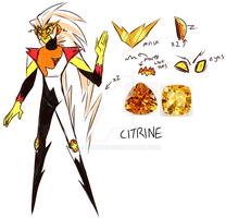 Steven Universe OC: Doctor Citrine by FudgeStripes by AdamAnt543