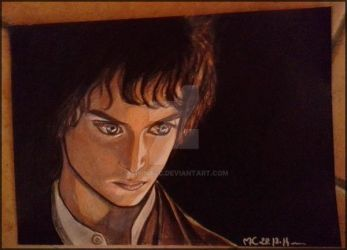 Frodo Baggins by Amrinalc