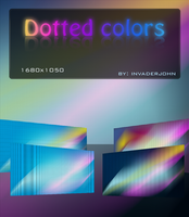 Dotted colors by invaderjohn