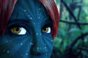 My sister is a Na'vi by stntoulouse