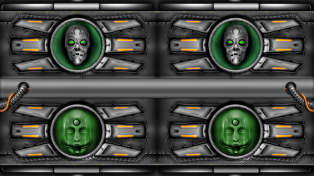WALLPAPER SKULL BY Alienware Asus by FAFA116