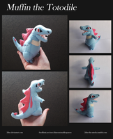 Muffin the Totodile by 2Due