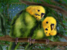 Chirpy and Smartie by Hahli1994