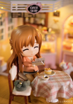 Asuna at the Cake Shop by kixkillradio