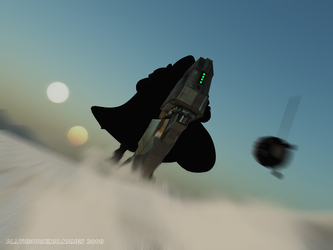 The Hunt on Tatooine by alltheoriginalnames