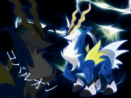 shiny Cobalion wallpaper