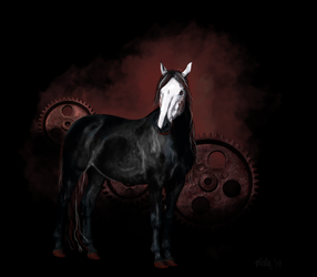 Saw Horse by kaons
