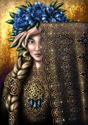 Golden Lace by Yagellonica