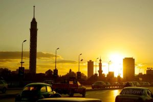 Cairo by the Sunset by DavyiBowie