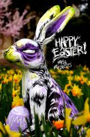 HAPPY EASTER by MetaMephisto