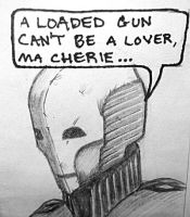 A loaded gun can't be a lover by bryssis