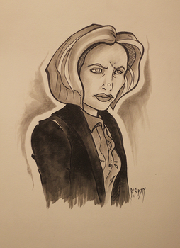 Scully by ThatNorskChick