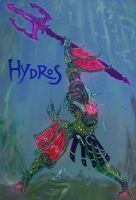 HYDROS God of Water by Typhonian-Apkallu