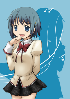 Sayaka by mewarrow