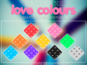 +Patterns love colours c: by Nonuu
