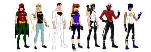 My Dc Reboot Young Justice by jsenior