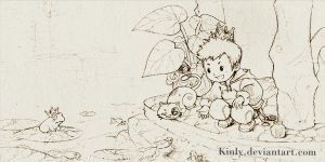 Feed the fish by kinly