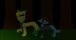 Lurking in the Shadows by Violet-The-Cat