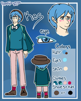 Kes Lee | Reference by PuppyTypewriter