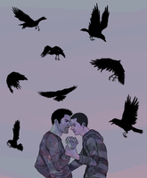 TW: Crows are creepy by threesteps