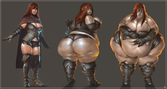 A Fattened Mage by the-murdellicious