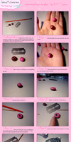 .Donut charm tutorial. by cammille-on
