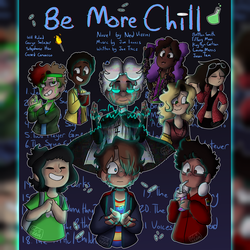 Be More Chill Poster(NYC Ver.) by GalaxyGal-11