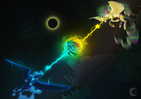 Solar Eclipse by SystemF4ilure