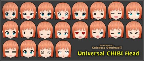 ~Universal Chibi Head [Released]~ by ken1171