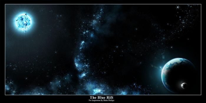 The Blue Rift by hoshiboshi