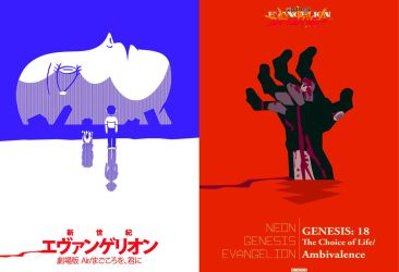 the_end_of_evangelion_minimalist_poster_by_mranyon by retroreloads