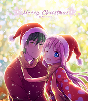 [+Video] Merry Christmas from Haru and Fudo by Neko-Rina