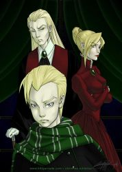 The Malfoy Family by weenie